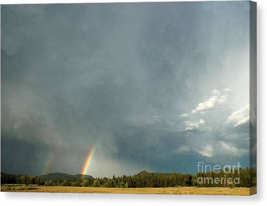 After The  Storm Canvas Print by Alan Russo