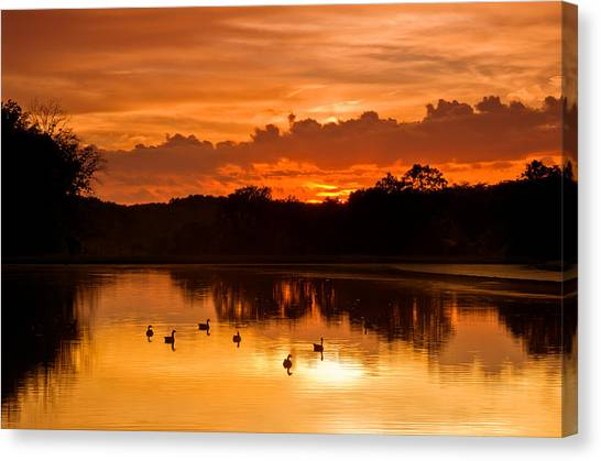 After The Storm..... Canvas Print