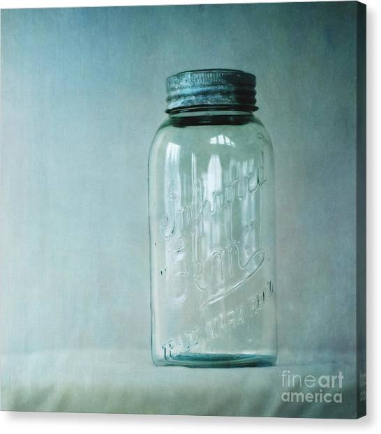 Jar Canvas Print - Afterglow by Priska Wettstein