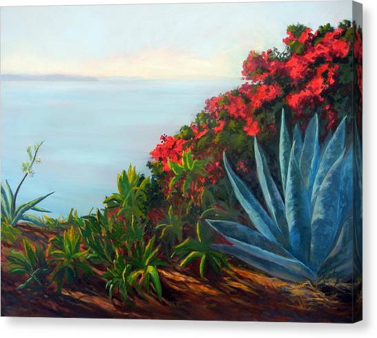 Afternoon Channel Canvas Print by Dorothy Nalls