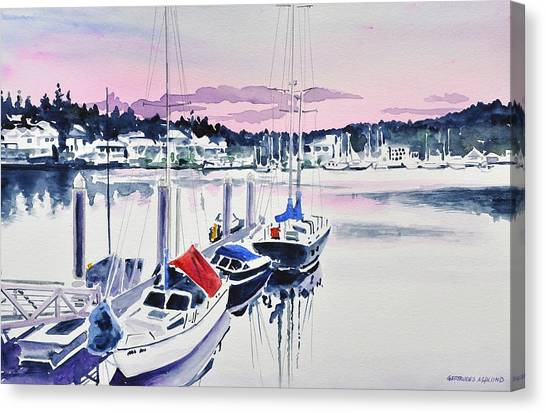 Afternoon Gig Harbor Canvas Print