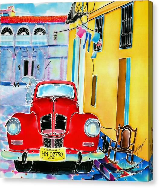 Afternoon In Havana Canvas Print