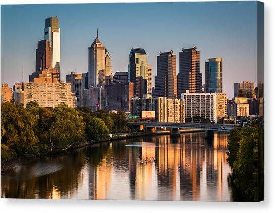 Afternoon In Philly Canvas Print