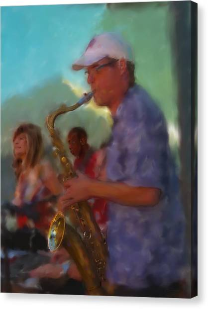 Afternoon Jazz Canvas Print