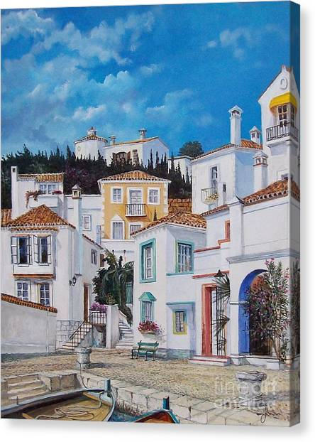 Afternoon Light In Montenegro Canvas Print