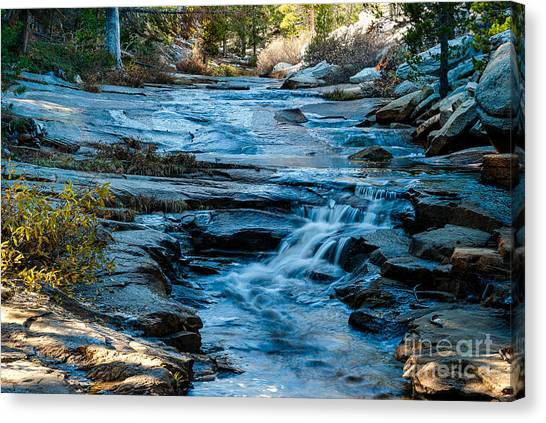 Afternoon Light On River. 1-7706  Canvas Print