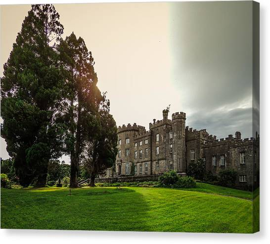 Afternoon Sun Over Markree Castle Canvas Print