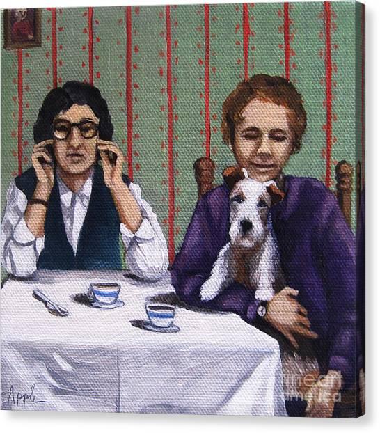 Afternoon Tea Canvas Print by Linda Apple