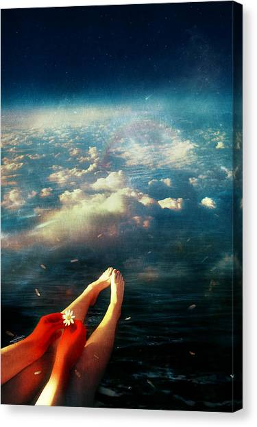 Heaven Canvas Print - Again by Mario Sanchez Nevado