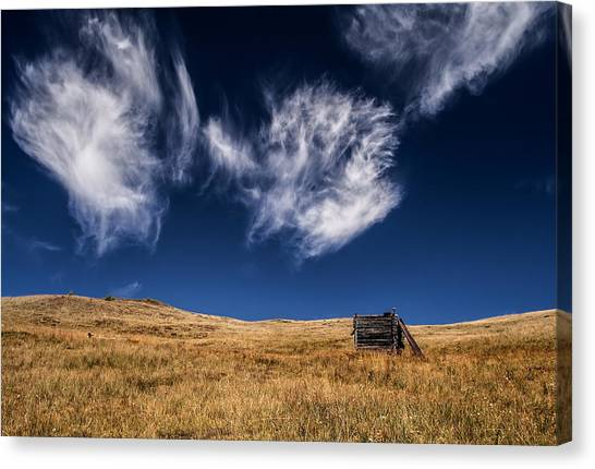 Against The Sky Canvas Print