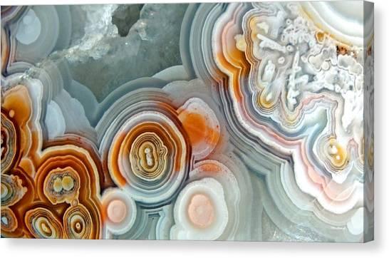 Agate 4 Micro Canvas Print