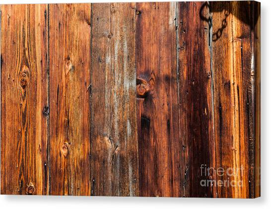 Aged Wood Canvas Print