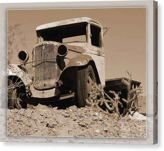 Aging Ford Canvas Print
