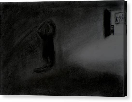 Agony Of The Outside World 1 Canvas Print