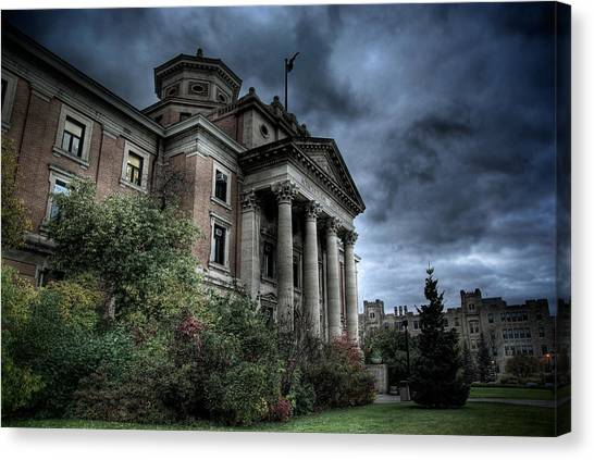 Manitoba Canvas Print - Agricultural College by Bryan Scott