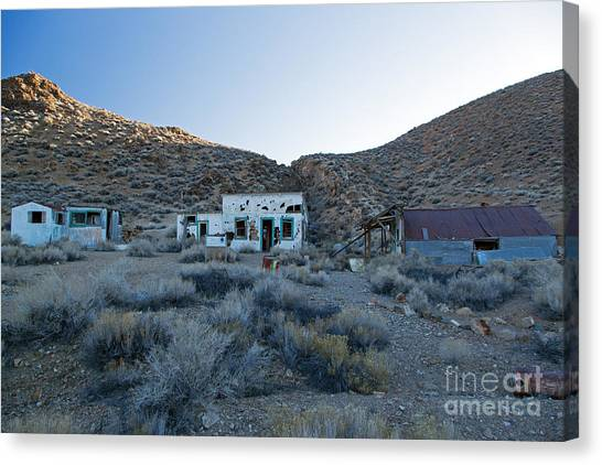 Aguereberry Camp Death Valley National Park Canvas Print