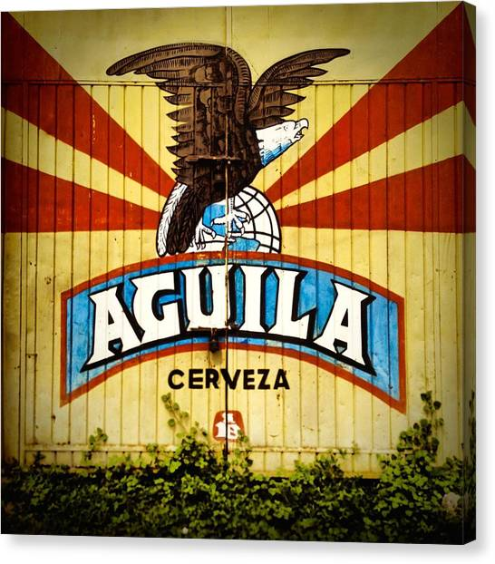 Lager Canvas Print - Aguila Beer Colombia by REO De Jongh