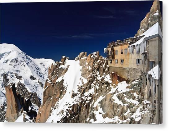 Aiguille Du Midi -  Mont Blanc Massif Canvas Print