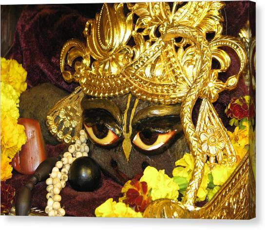 Aindra's Baba Shyamasundar Canvas Print by Lila Shravani