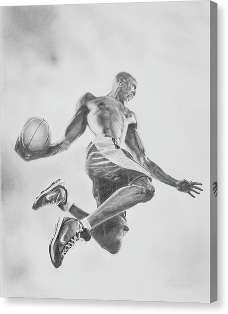 Air Ball Canvas Print by Jennifer Whittemore