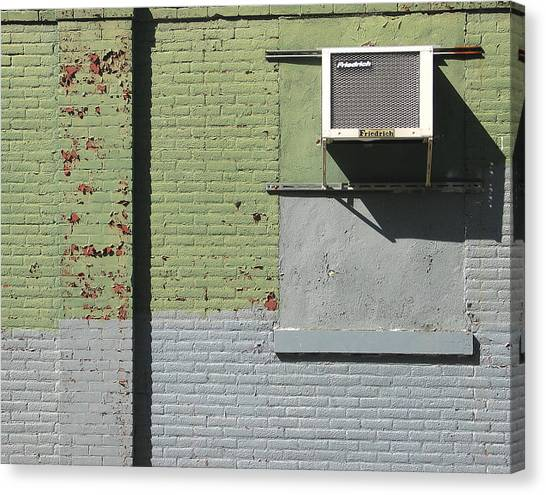Air Conditioner Canvas Print