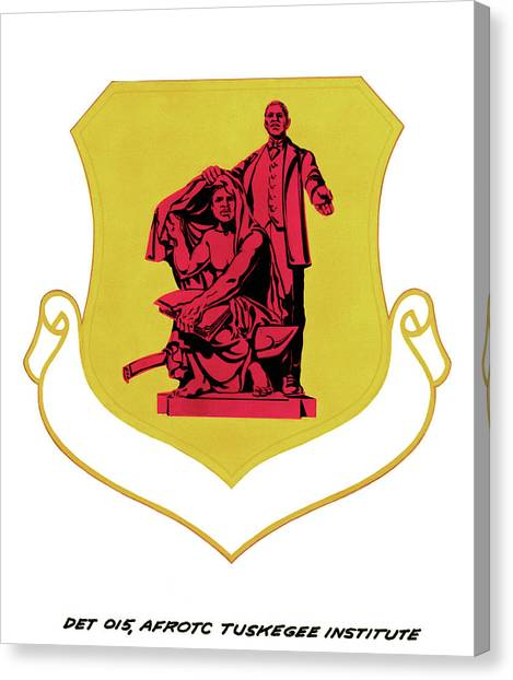 Rotc Canvas Print - Air Force Insignia, 1982 by Granger