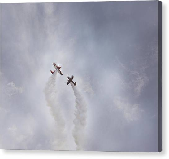 Air Show #3 Canvas Print by Pat Abbott