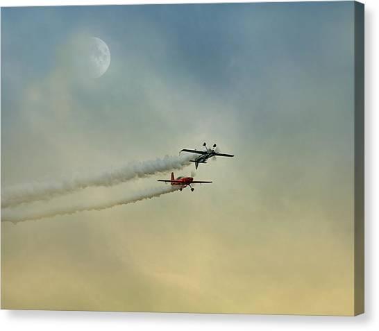 Air Show #35 Canvas Print