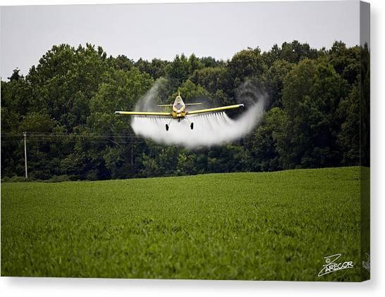 Air Tractor Canvas Print