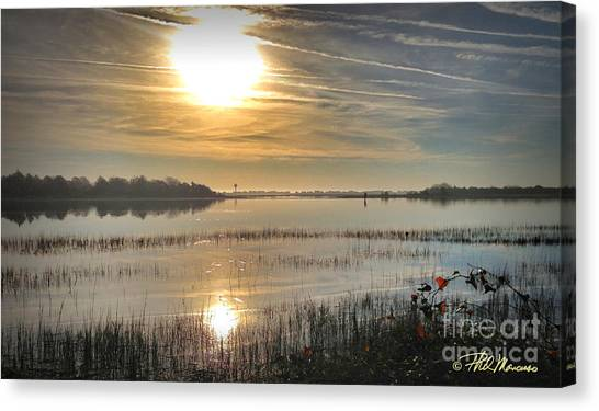 Airlie Road Morning Canvas Print
