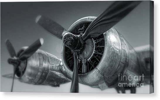 Airplane Propeller - 02 Canvas Print