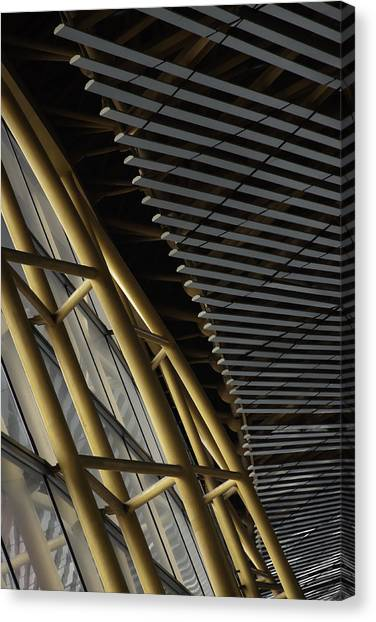 Airport Lines Canvas Print