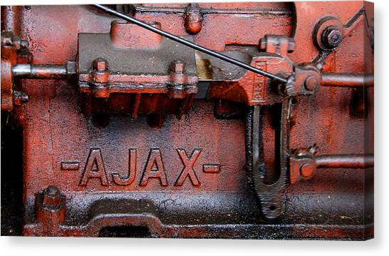 Ajax Engine Canvas Print