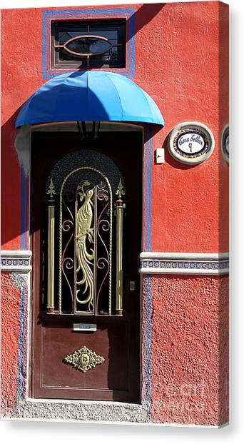 Ajijic Door #8 Canvas Print