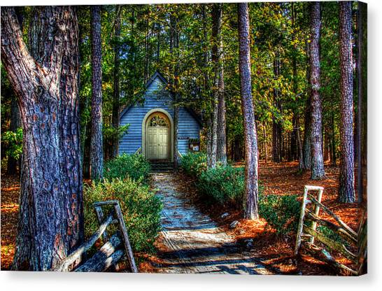 Ajsp Chapel Canvas Print