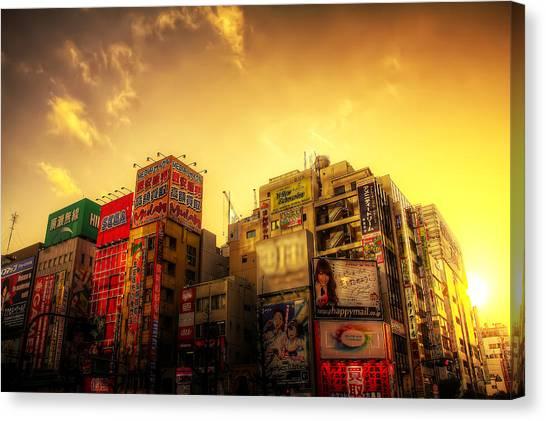 Akihabara Sunset Canvas Print by SEOS Photography