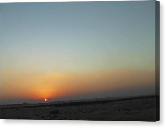 Al Ain Desert 2 Canvas Print