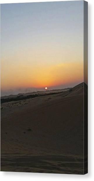 Al Ain Desert 20 Canvas Print