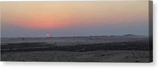 Al Ain Desert 7 Canvas Print