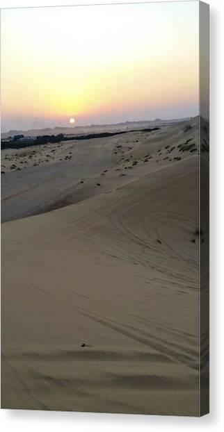 Al Ain Desert 8 Canvas Print