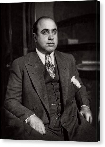 Al Capone - Scarface Canvas Print