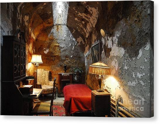 Al Capone's Cell Canvas Print