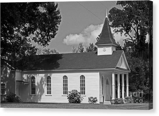 Alabama Church Canvas Print by Kimberly Saulsberry