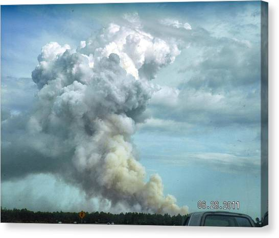 Alabama Fire Canvas Print