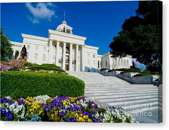 Alabama State Capitol Building Canvas Print