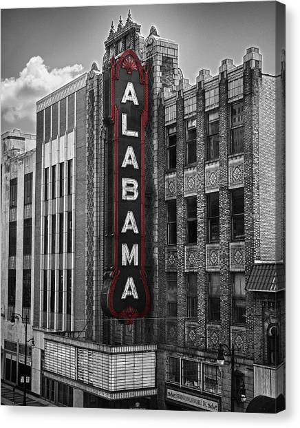 Alabama Theater Canvas Print