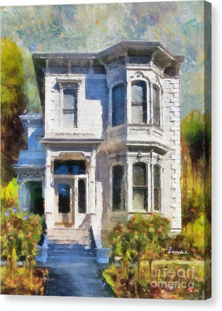 Alameda 1880 - Queen Anne  Canvas Print