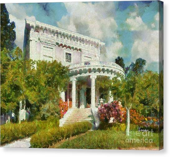 Alameda 1896-97 Colonial Revival Canvas Print