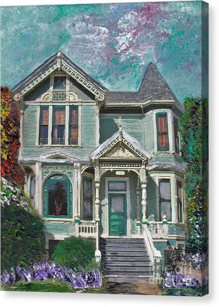 Alameda 1897 - Queen Anne Canvas Print