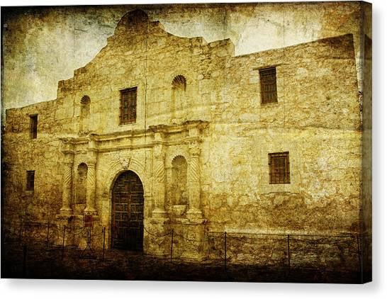 Alamo Remembered Canvas Print